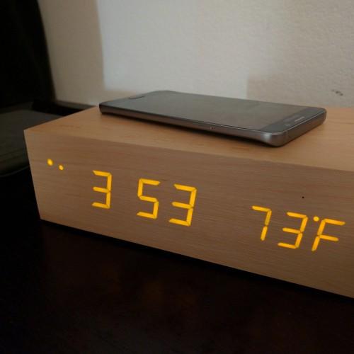 Olixar Qi-Tone Alarm Clock Bluetooth speaker (Review)