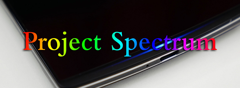 OPPO Find 7 project spectrum