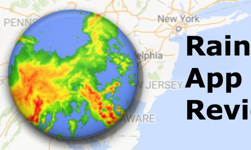 Raindar is a simple and powerful weather radar app (App review)