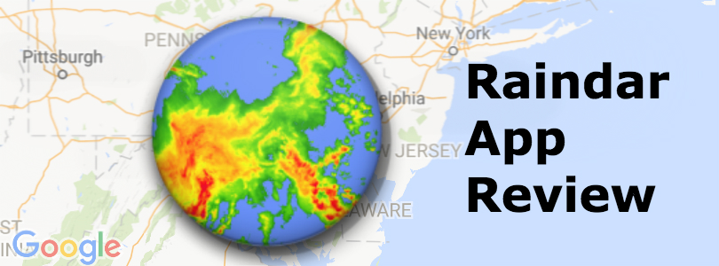 Raindar is a simple and powerful weather radar app (App review)