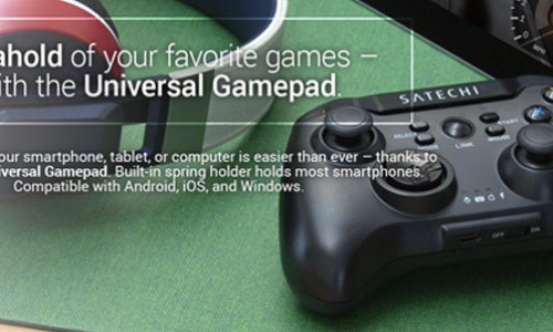 Game on your phone: Satechi Bluetooth Universal Controller