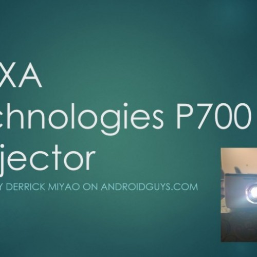 AAXA Technologies P700 HD LED Micro projector (Review)