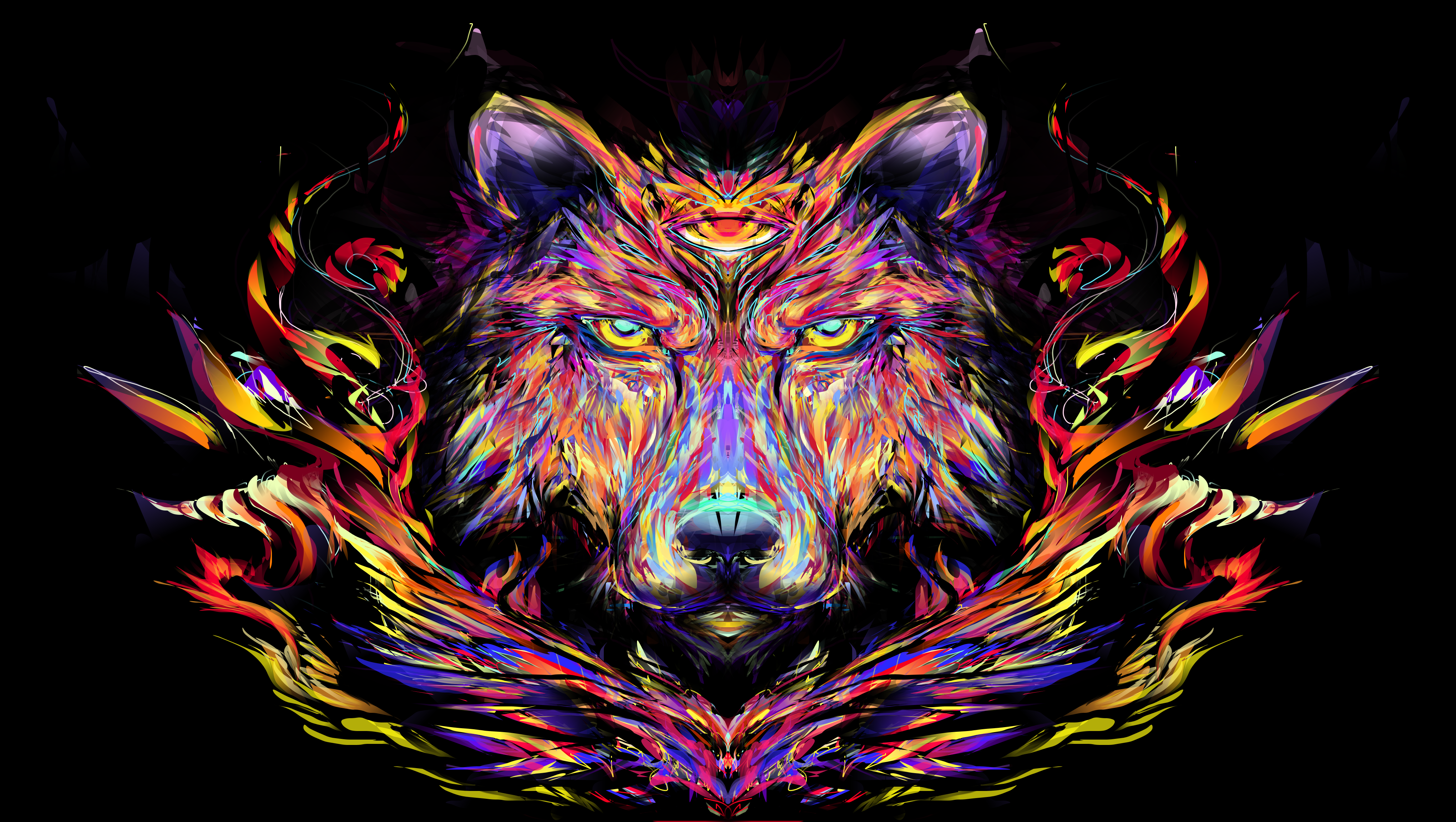 28 Psychedelic QHD wallpapers that will make your ...