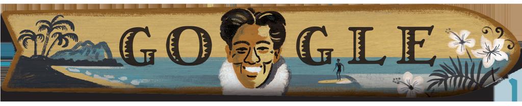 August 24, 2015 Duke Kahanamoku's 125th Birthday