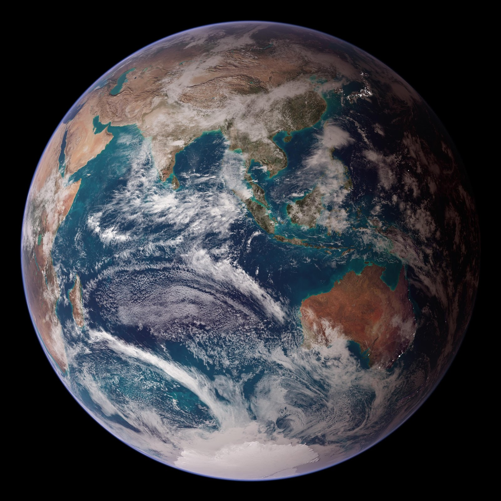 Desktop Wallpaper Earth From Space: 30 Gorgeous HD Wallpapers Of Planet Earth
