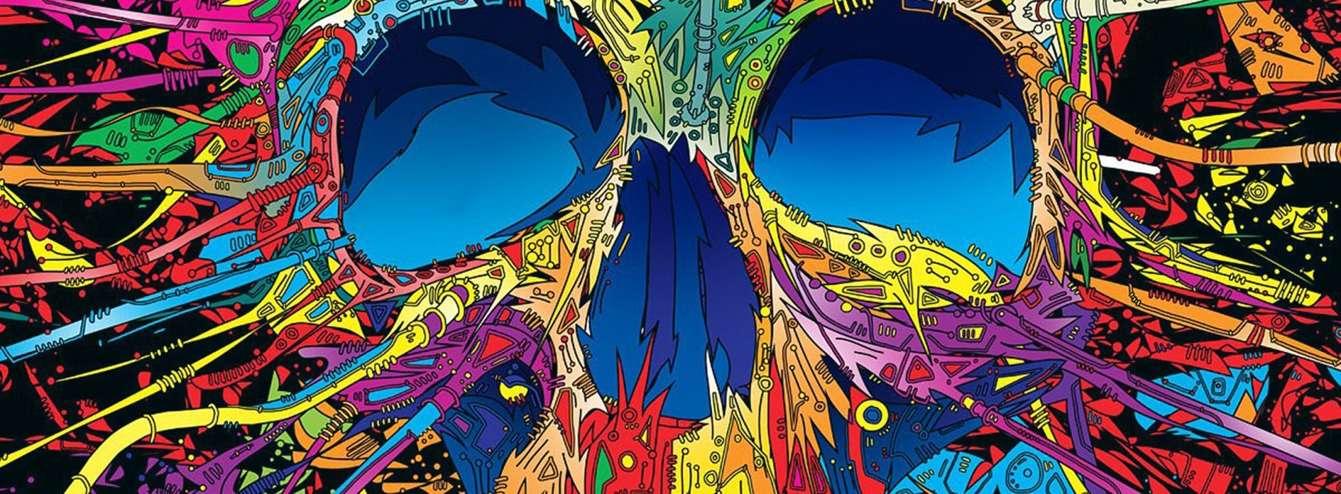 Ipad Retina Wallpaper Art Skull: 28 Psychedelic QHD Wallpapers That Will Make Your