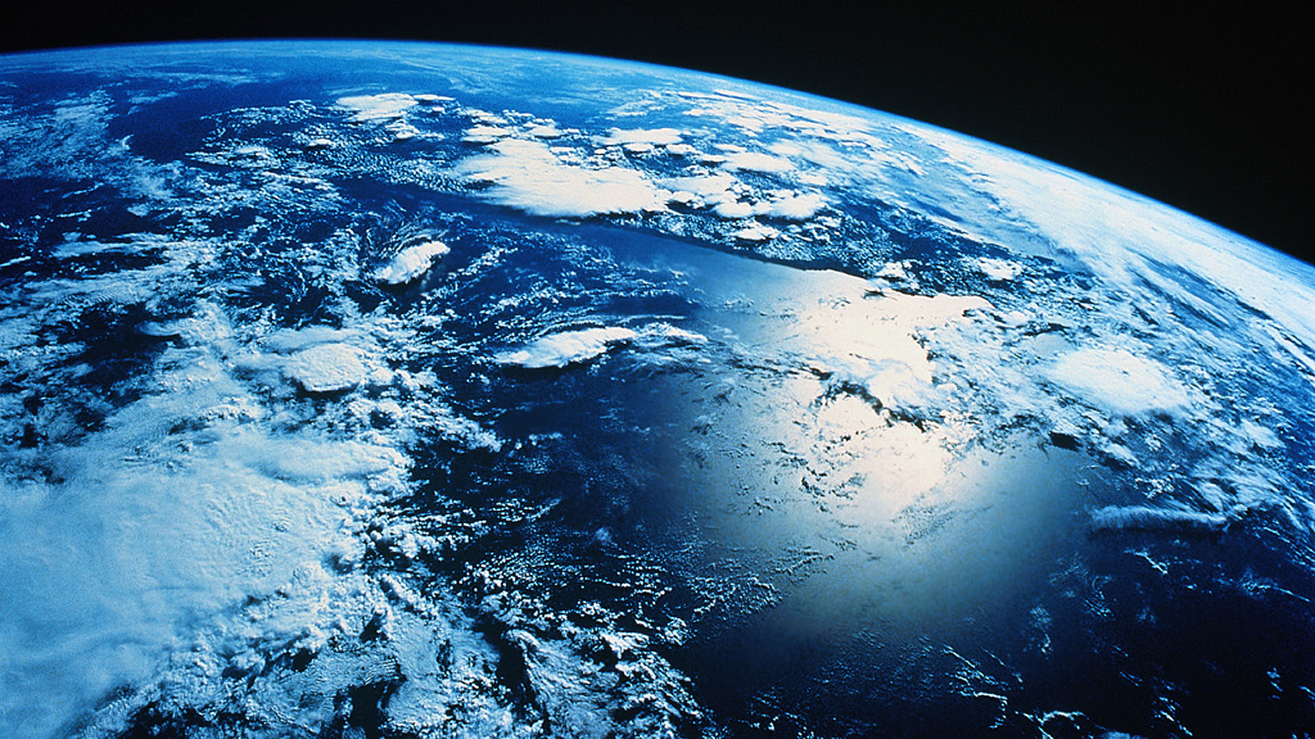 Planet Earth From Space Wallpaper