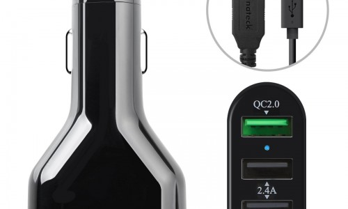 Inateck quick charge car charger review