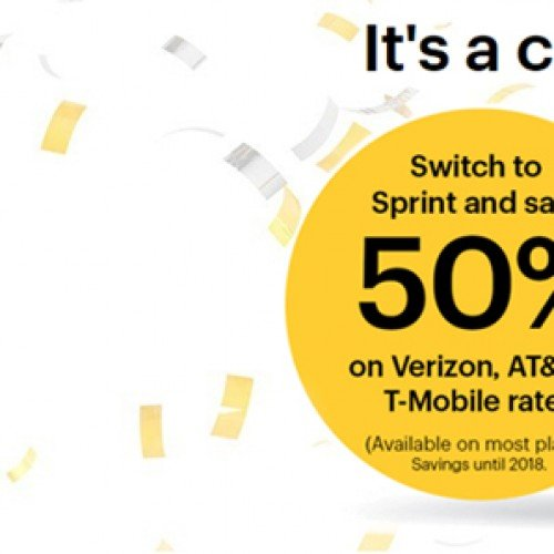 Sprint's new promotion cuts competitor rate plans in half