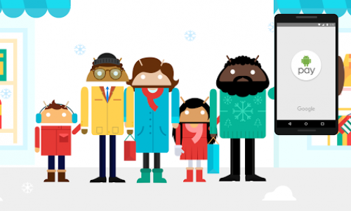 "Google enabling you to ""Tap. Pay. Give."" over the holidays"