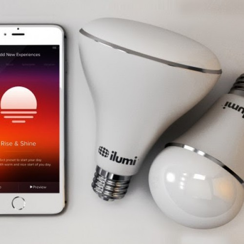 Control up to 50 light bulbs wirelessly with ilumi's A19 & BR30 available at Best Buy now