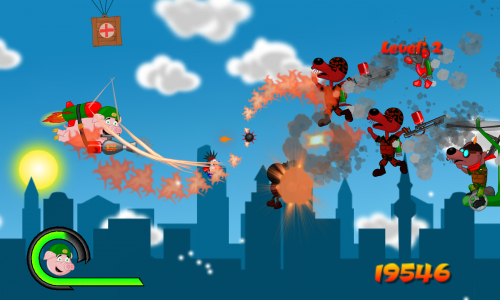War Piggy: Jetpack Pig Warrior (game review)