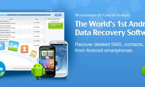 Wondershare Dr. Fone for Android file recovery software (Review)