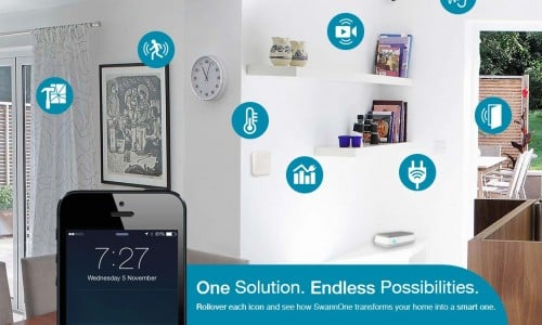 Swannone adds new partners to fully protect and control your smart home