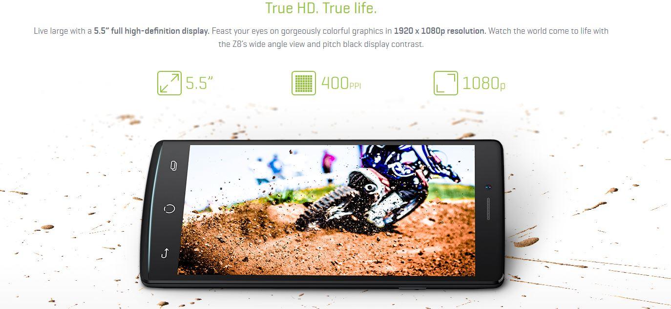 Nu Mobile Z8