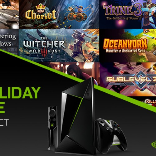 Check out NVIDIA's 12 days of Christmas deals for the SHIELD