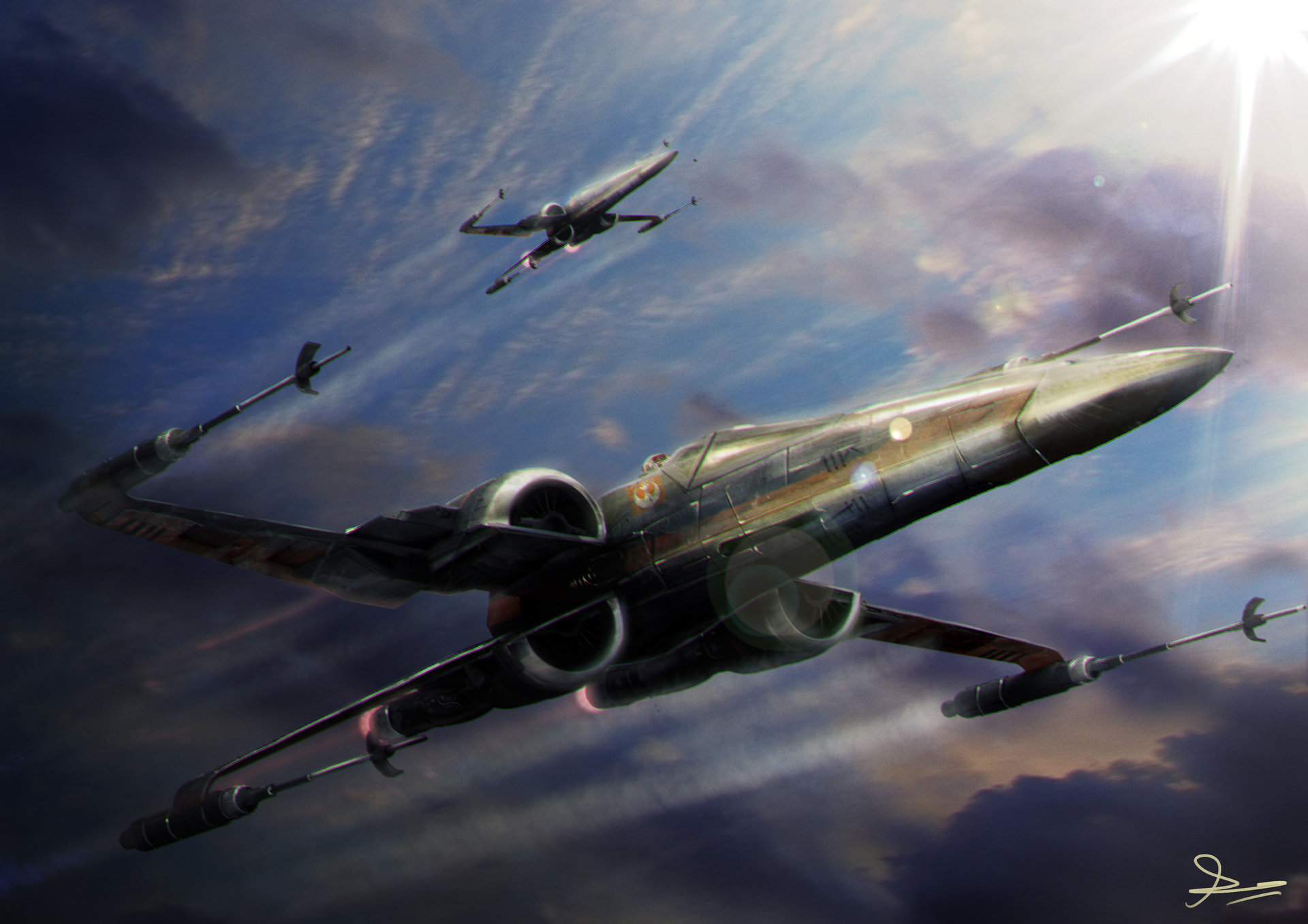 20 hd star wars wallpapers to channel your inner fanboy
