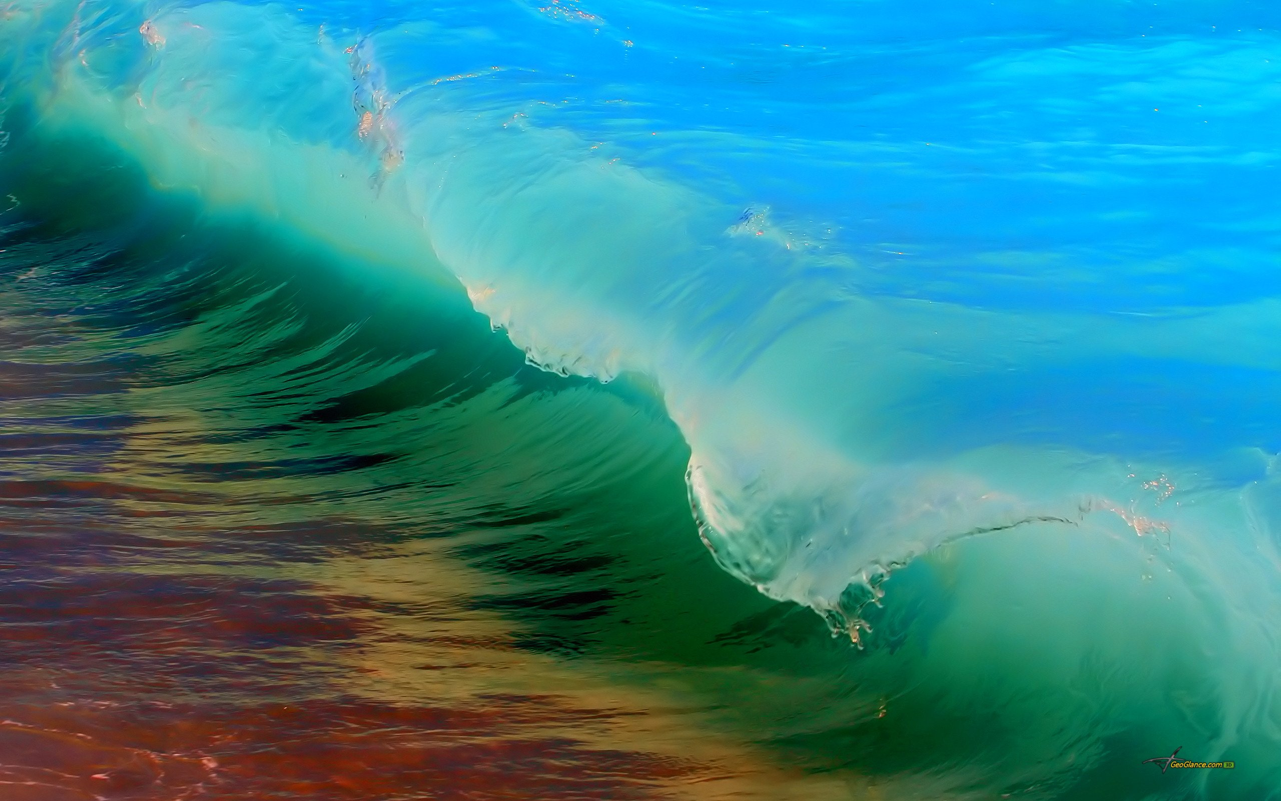 beautiful color background wave - photo #18