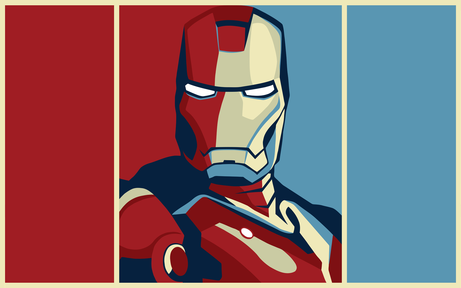 50 hd wallpapers of comic heroes and villains - Iron man wallpaper cartoon ...