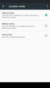 Battery Tips Location Mode - Reduced