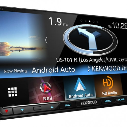 Kenwood debuts feature-packed eXcelon DNX893S car receiver, Android Auto in tow
