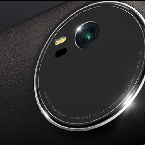 The Asus ZenFone Zoom, with 3x optical zoom, is finally launching