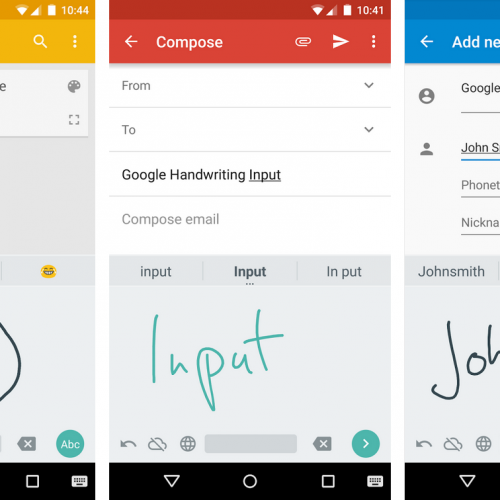 How to use Google Handwriting Input as an alternative to typing on a keyboard