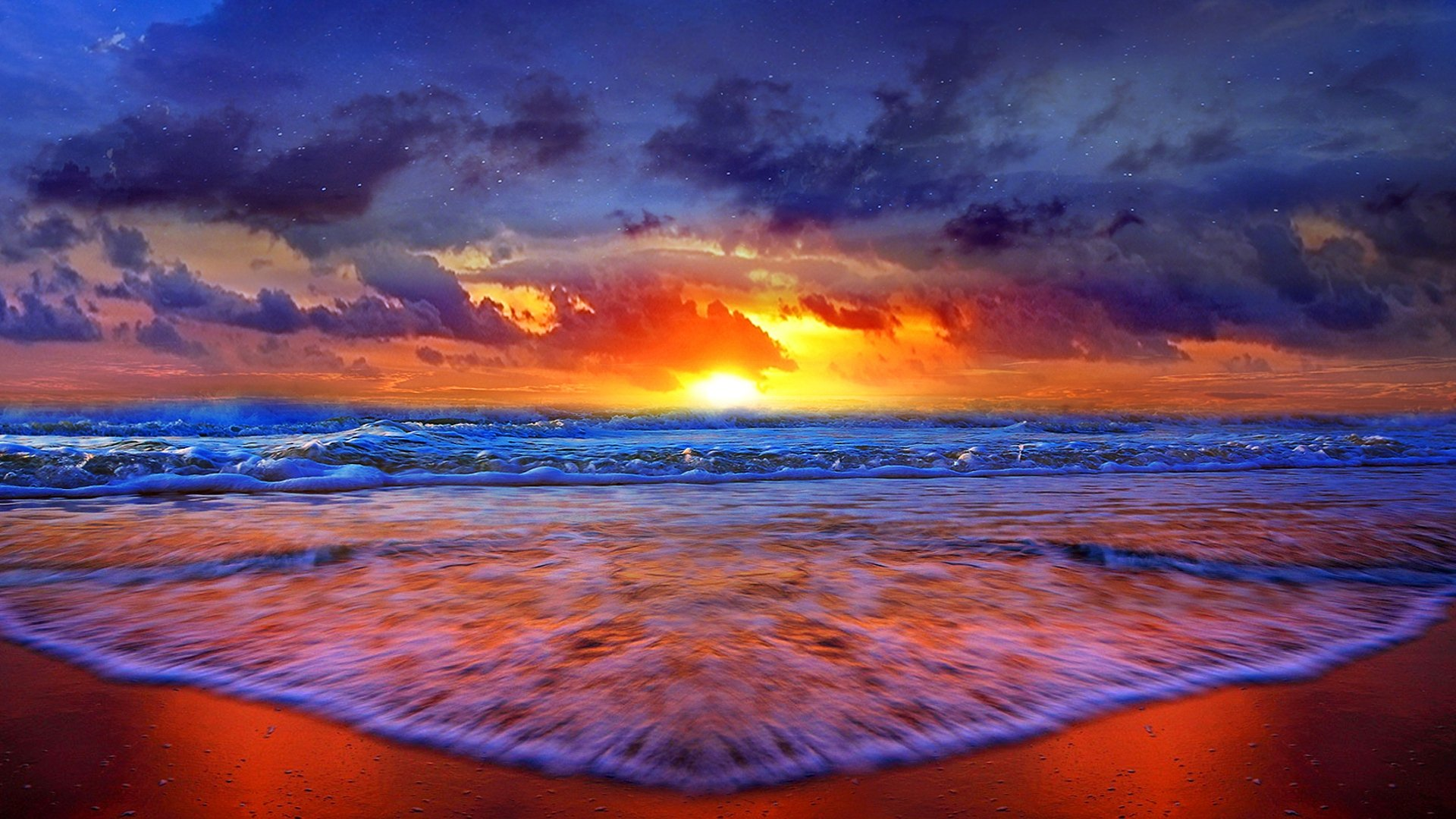 29 amazing hd and qhd sunset wallpapers for Amazing ocean images