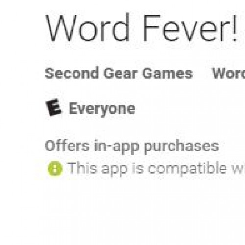 Enjoy word games and crossword puzzles? Check out Word Fever at the Google Play Store (app review)