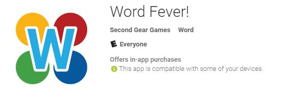 Enjoy word games and crossword puzzles check out word fever at the enjoy word games and crossword puzzles check out word fever at the google play store app review ccuart Choice Image