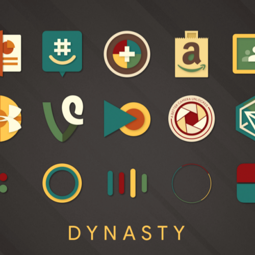 Dynasty Icon Pack (Beta) – A Gorgeous Blast from the Past (Updated) [Review]