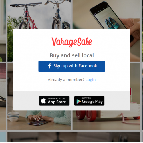 Varagesale your online garage sale buy and sell locally for Garage sales online