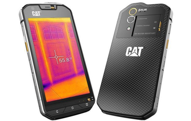 caterpillar s60 built in thermal imaging powered by flir preview. Black Bedroom Furniture Sets. Home Design Ideas