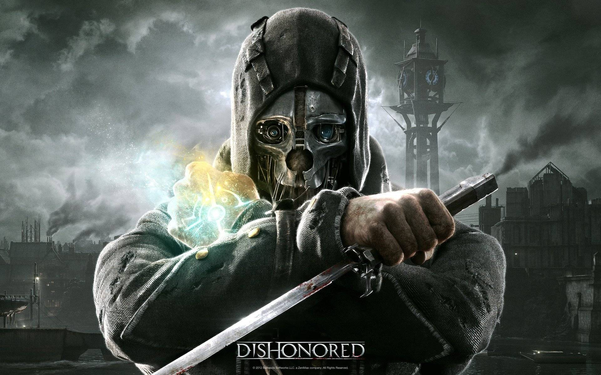 Optimized Dishonored Video Game Wallpaper