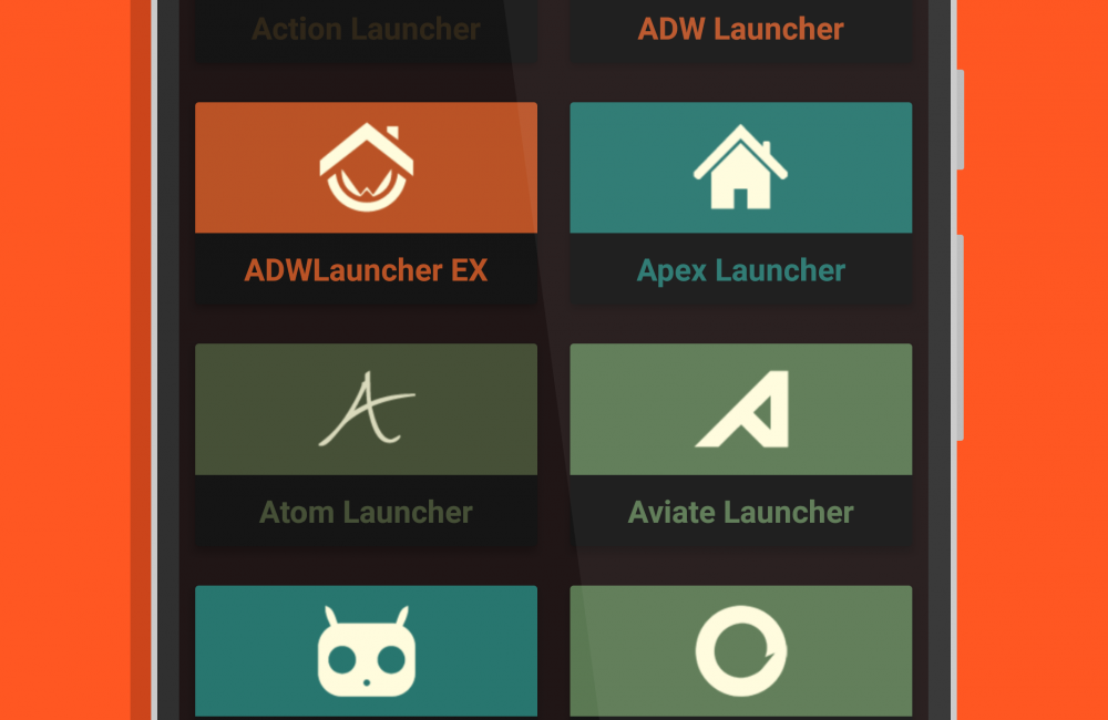 Step 3: Select your Launcher.