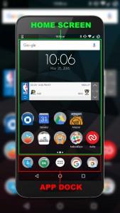 App Dock Home Screen