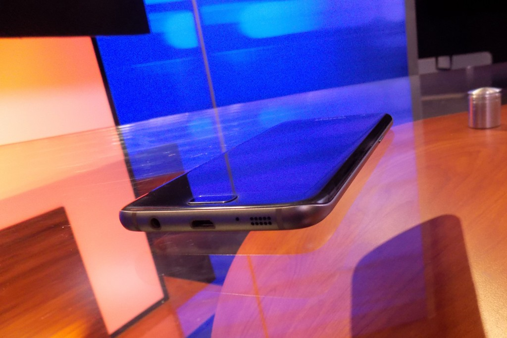 Galaxy S7 Edge curve