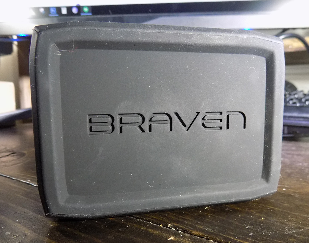 Braven BRVHD logo side