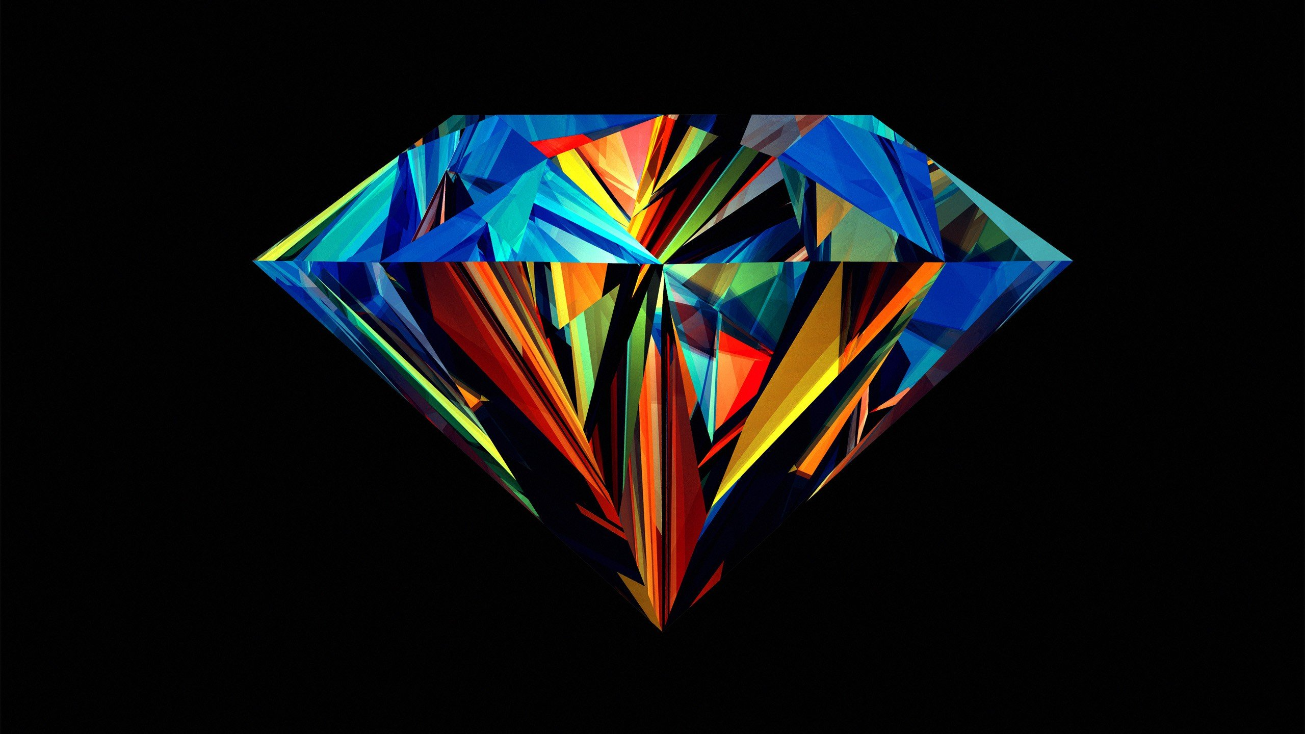 Most Inspiring Wallpaper Mobile Colorful - Abstract-Colored-Diamond  2018_1912.jpg