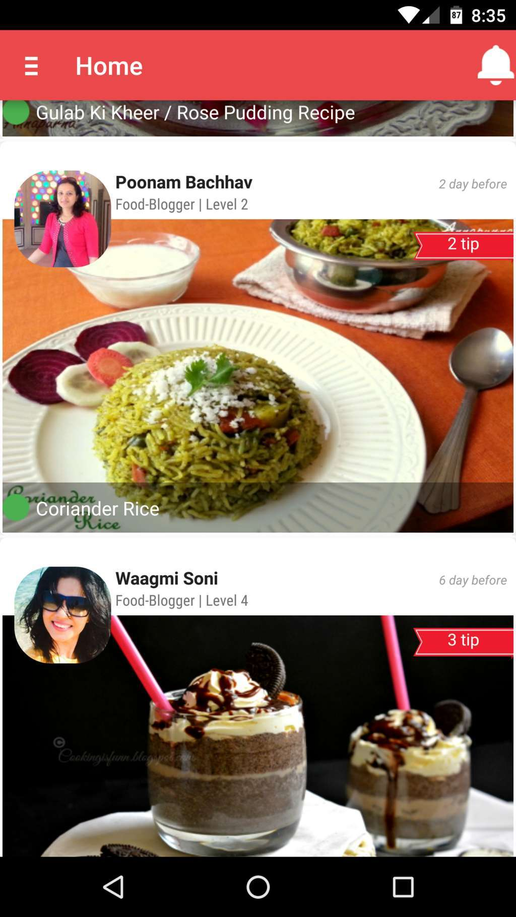 Restokitch recipes cookbook is an ambitious cooking app and foodie features like followers and a hotline for answering user questions make this app stand out from other such recipe apps on google play forumfinder Gallery