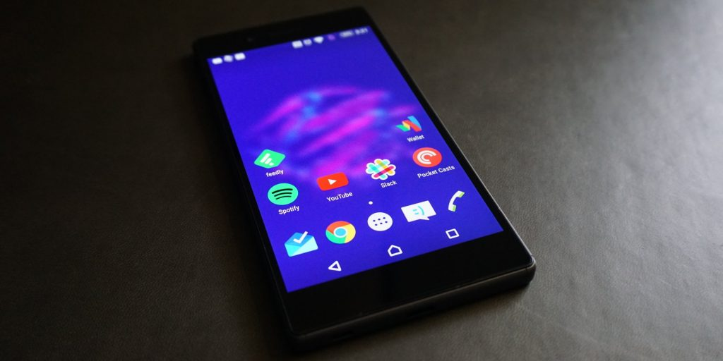 Sony Xperia Z5 screen