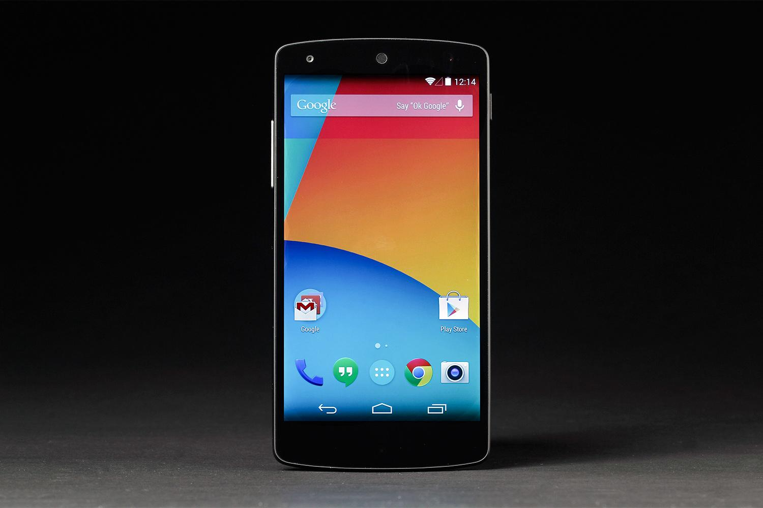 Google-Nexus-5-review-front-android-home