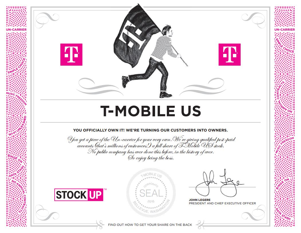 t mobile stock