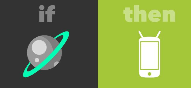 IFTTT nasa wallpaper