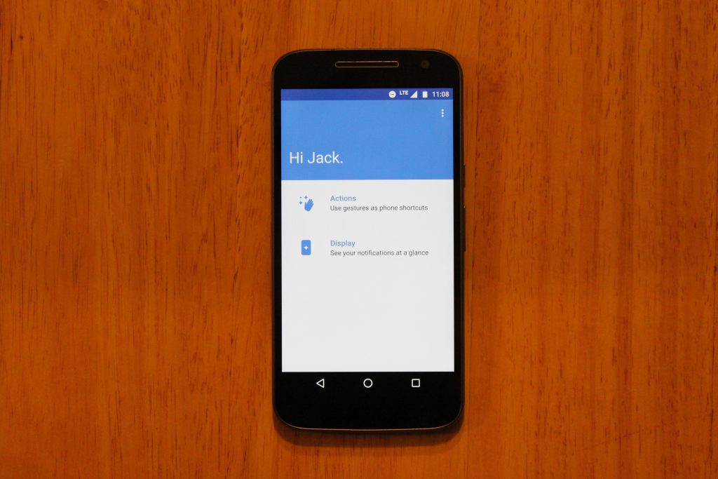 how to turn off screen overlay moto g4