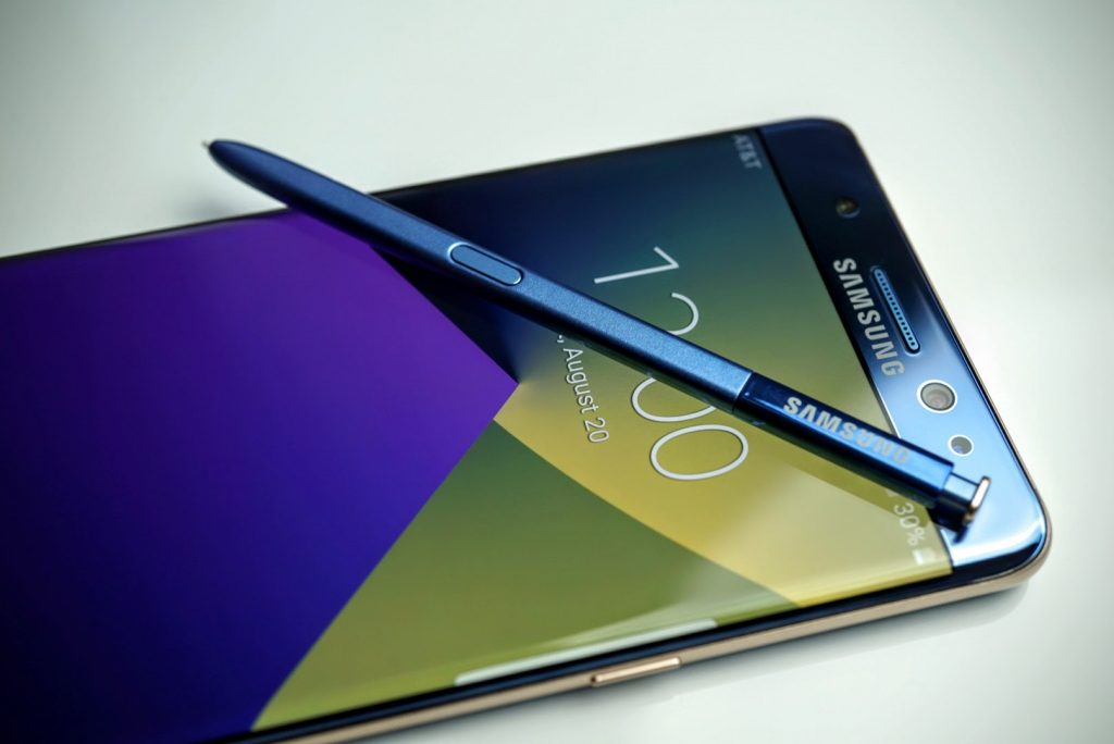 Samsung Galaxy Note 7 with S Pen