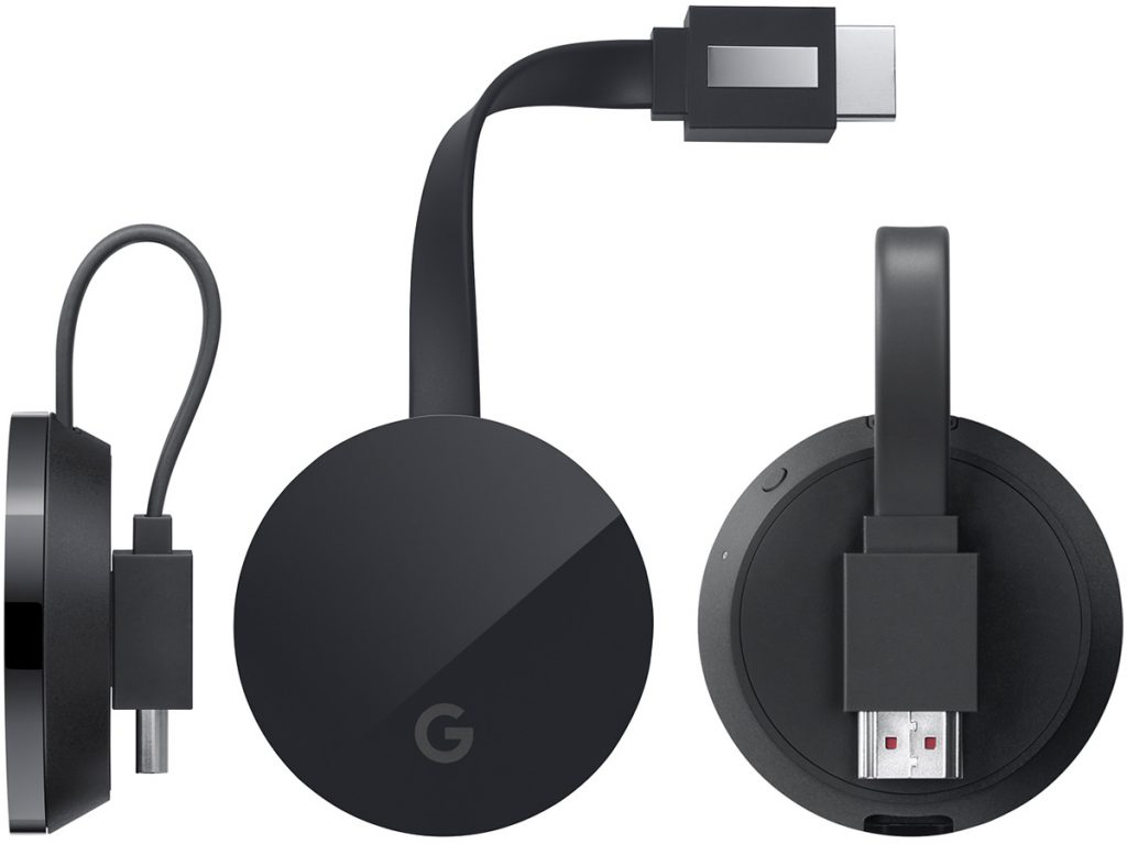 The Chromecast Ultra has a plug for direct ethernet access