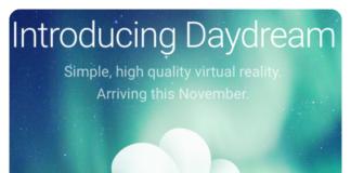 google daydream welcome
