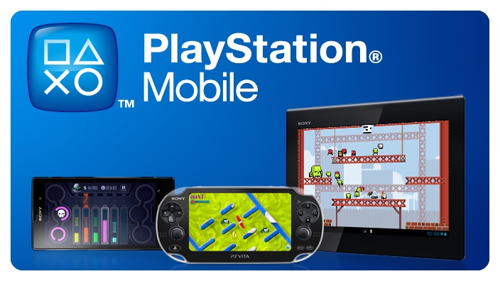 Sony's now defunct mobile framework generically titled Playstation Mobile