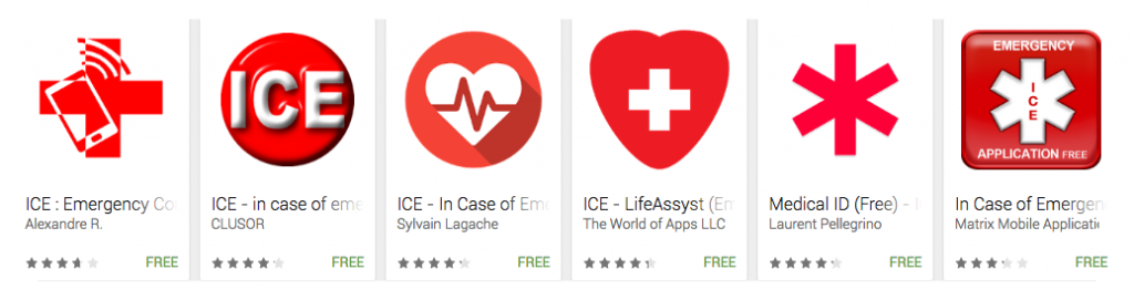 emergency apps on android